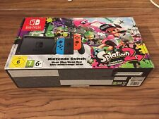Nintendo Switch Splatoon Console Box, Complete with Manual, Inserts, Baggies