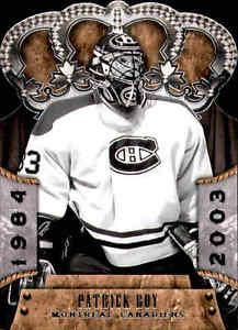 2011-12 Crown Royale #102 Patrick Roy L Card