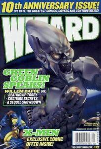 Wizard the Comics Magazine #127AU FN 2002 Stock Image