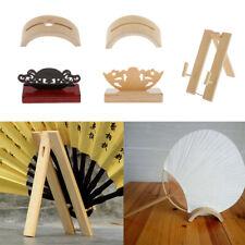Vintage Style Fan Display Holder Paper Fan Display Stands Fan Stand Holder Base