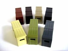 Brickarms Ammo/Weapons CRATE for Custom Lego Minifigures -Pick your Color!-