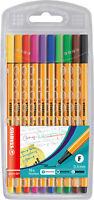 STABILO® Tintenschreiber point 88 Etui 10 Stück/10 Farben - 8810
