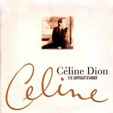 ☆ CD SINGLE Céline DION	S'il suffisait d'aimer Promo 5-track CARD SLEEVE RARE