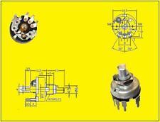Poti Potentiometer Linear 0,1W 10K Ohm mit Schalter Switch 1A  1 Stück
