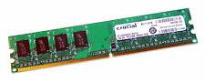 Crucial CT12864AA667.8MFJ2 (1GB DDR2 PC2-5300 667MHz DIMM 240-pin) 8C RAM Module