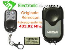 REMOCON SIRIO RADIOCOMANDO APRICANCELLO 4 CANALI 433 Mhz TELECOMANDO UNIVERSALE