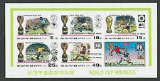 KOREA # 1716a MNH WORLD CUP SOCCER WINNERS, Imperforate  Miniature Sheet