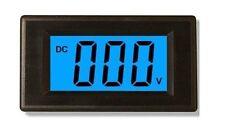 "1pcs  3 1/2"" DC0-199.9mV Blue LCD Digital Volt Panel Meter/Voltmeter"