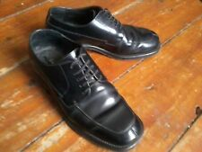 MENS NEXT SMART FORMAL BLACK LEATHER LACE UP SHOES SIZE UK 7