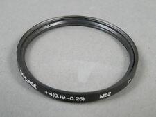 Hoya 52mm nahlinse +4 (0,19-0,25) molto G. zustd. vetro Top