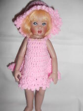 "Knitting Dress for 10"" Bitty Bethany Kish/Ann Estelle/Yo-Sd"