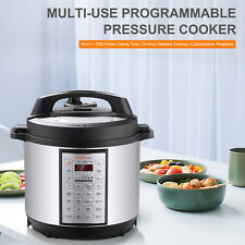 18-in-1 Multi-Use Programmable Pressure Cooker,Stainless Inner Container 6 Qts