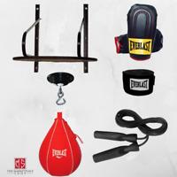 Everlast Boxing Speed Bag Kit 6-Piece Set  Training Gloves MMA Swivel Bag