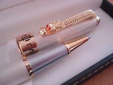 Splendide écrin stylo ROLLER REGENT nacré blanc,  luxe