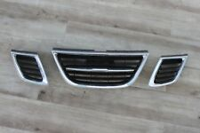 2006 Saab 9-3 Front bumper Grill assembly grille chrome 06