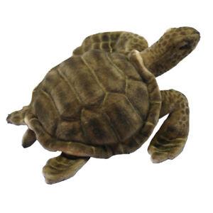 HANSA SEA TORTOISE TURTLE REALISTIC CUTE SOFT ANIMAL PLUSH TOY 50cm **NEW**