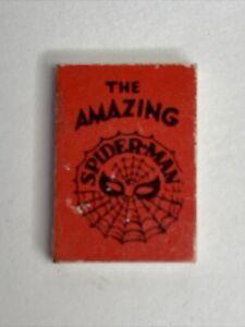 Marvel Mini Books 1966 AMAZING SPIDER-MAN red