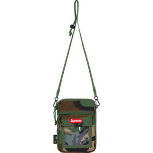 Supreme - Utility Pouch - Woodland Camo (In Hand)