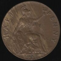 1912 George V Halfpenny | British Coins | Pennies2Pounds