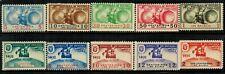 Panama 1935 Unissued Columbus Set of 10 Stamps MNH
