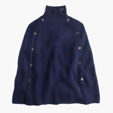 NWT JCREW J.Crew Convertible Sweater Cape Navy BLUE XXS/XS SOLDOUT RARE