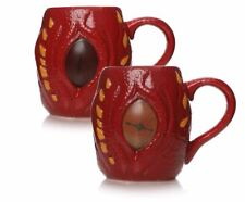 OFFICIAL THE HOBBIT SMAUG HEAT CHANGING MAGIC 3D COFFEE MUG CUP NEW IN GIFT BOX