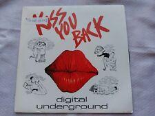 SINGLE DIGITAL UNDERGROUND - KISS YOU BACK - GASA SPAIN 1991 VG+