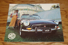 Original 1972 MG MGB Sales Brochure 72