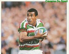 283 W. SEREVI LEICESTER TIGERS 1  STICKER PREMIER DIVISION RUGBY 1998 PANINI