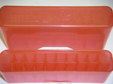 MTM Case Gard™  J20 Series Sliptop Ammo Boxes J20 J-20-M-29 Clear Red 22-250 ect