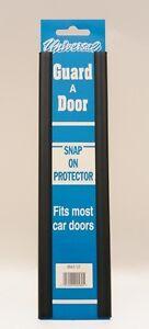 Van Door Boot Edge Guard Protector Universal Pair Snap On Black Doorguard Covers