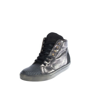 RRP €110 GIO CELLINI MILANO Leather Sneakers Mismatch Size L 40 R 39 HANDMADE
