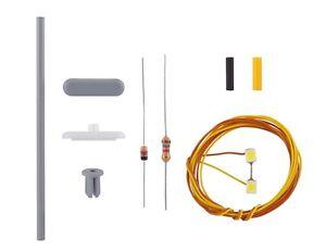 Viessmann 6926 Tt Kit Platform Light, 2 Leds White # New Original Packaging #