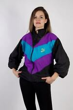 Vintage Puma Tracksuits Top Shell Sportswear Streetwear Retro L Stone - SW2305