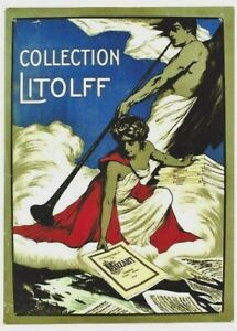 Original vintage poster CLASSIC MUSIC COLLECTION LITOLFF 1903