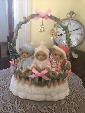 Cherished Teddies 2007 Musical Figurine, 4008154, Cashley Courtney Caitlin, Nib