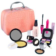 Girls Make Up Toy Set Pretend Play Beauty Princess Dressing Cosmetic Travel Bag
