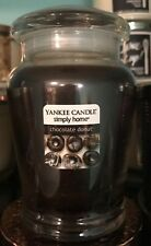 """Yankee Candle """"Chocolate Donut"""" 12oz Jar Very Rare Only One on eBay!!!"""