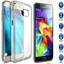 ultra transparente funda de Gel&Vidrio Templado para Samsung Galaxy A3/A5