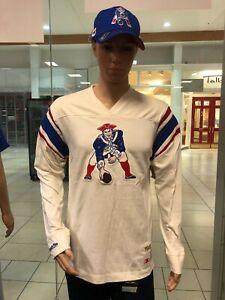 New England Patriots  Mitchell & Ness NFL Men's  Long Sleeve Shirt TEAM INSPIRED