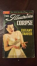 """Tiffany Thayer, """"Illustrious Corpse,"""" 1950, Popular Library 227, VG-,1st"""