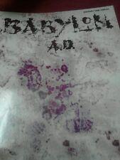 Babylon ad guitar tab book