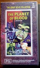 THE PLANET OF BLOOD aka Queen of Blood Glowburn Hollywood House Video PAL VHS