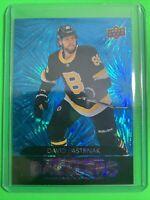 2020-21 Upper Deck Series 1 Dazzlers Blue #DZ-3 David Pastrnak Boston Bruins