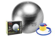 Fit ball Confezione da 2 65 cm excersize Fitness base FORMAZIONE CON POMPA Cardio hiit