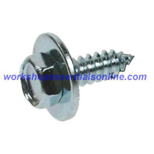 "Hex Head Self Tapping Acme Screws & Captive Washer No8-10-12 & 14 All 1/2"" Long"