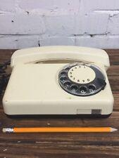 "Vintage Rotary Telephone ""Tulipan"" Made in Poland Retro Desk Phone"