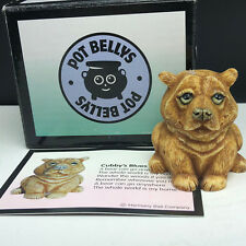 Harmony Kingdom Pot Bellys bellies figurine nib box Cubbys blues bear cub kodiak