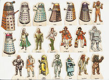 VERY RARE: 1975 Weetabix Doctor Who figures. CHOOSE YOURS!