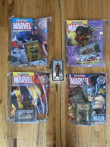 Eaglemoss Classic Marvel Figurine Collection With Extra Daredevil Figurine